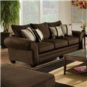 American Furniture 3700 Upholstered Stationary Sofa - Item Number: 3703 G