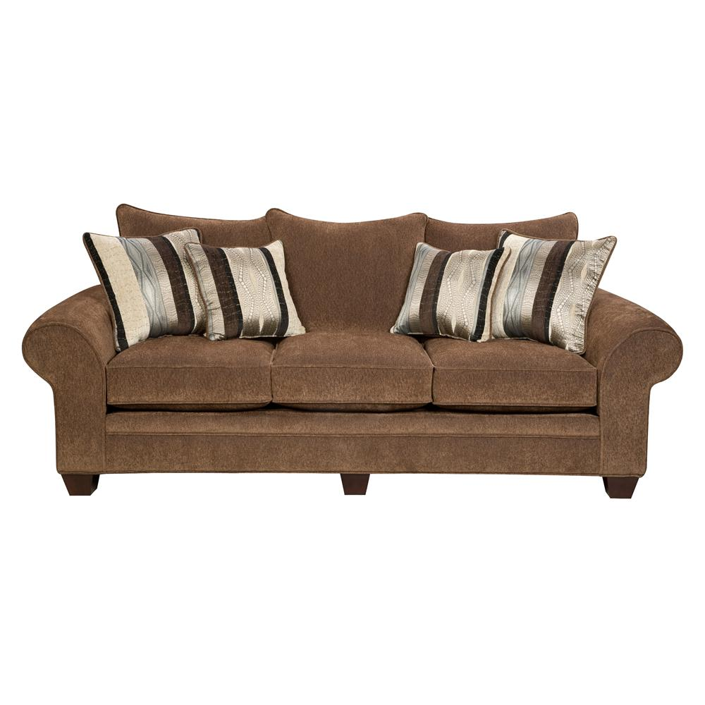 American Furniture 3700 Upholstered Stationary Sofa Prime Brothers Furniture Sofas