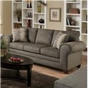 Peak Living 3750  Contemporary Sofa with Casual Design Style