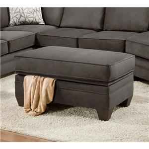 American Furniture 3810 Storage Ottoman