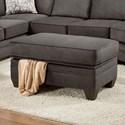 American Furniture 3810 Storage Ottoman - Item Number: 3806-4040