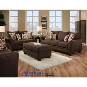Vendor 610 3850 Sofa w/Loveseat
