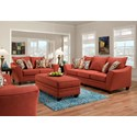 American Furniture 3850 Stationary Living Room Group - Item Number: 3850-Living-Room-Group-4308