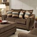 American Furniture 3850 Loveseat - Item Number: 3852-3850