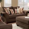 American Furniture 3850 Loveseat - Item Number: 3852-4310