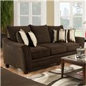 American Furniture 3850 Sleeper Sofa (Mattress Not Included) - Item Number: 3858-3920
