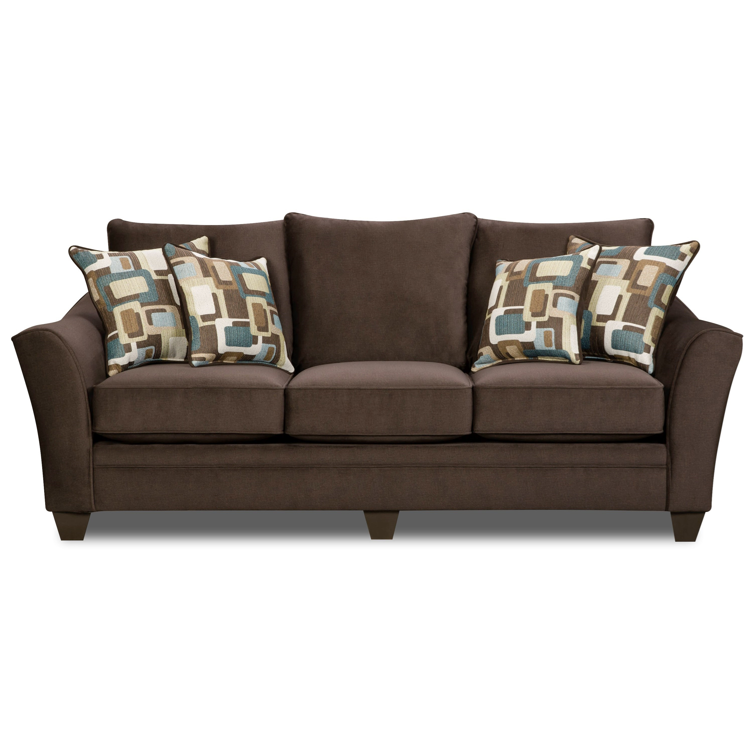 American Furniture 3850 Sofa - Item Number: 3853-4041