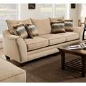 American Furniture 3850 Sofa - Item Number: 3853-4212