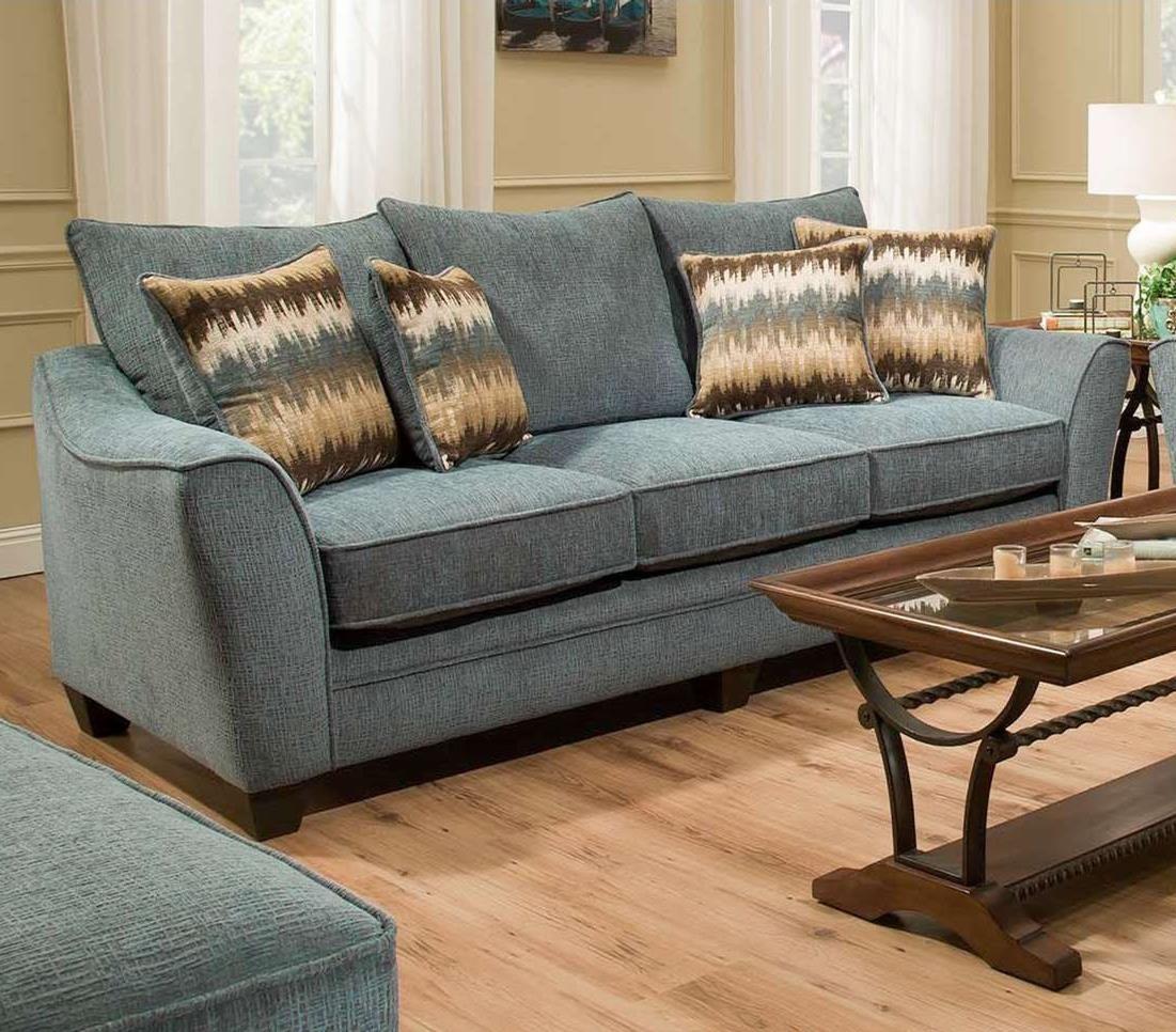 American Furniture 3850 Sofa - Item Number: 3853-4215