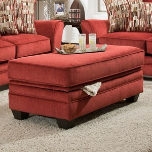 American Furniture 3850 Storage Ottoman