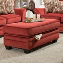 American Furniture 3850 Storage Ottoman - Item Number: 3856-2130