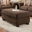 American Furniture 3850 Ottoman - Item Number: 4855-4310