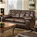 American Furniture 4400 Contemporary Loveseat with Tufted Cushions - 4402-8570
