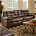 American Furniture 4400 Contemporary Sofa with Tufted Cushions - 4403-8570