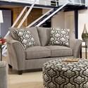 Vendor 610 4550 Love Seat - Item Number: 4552-2124