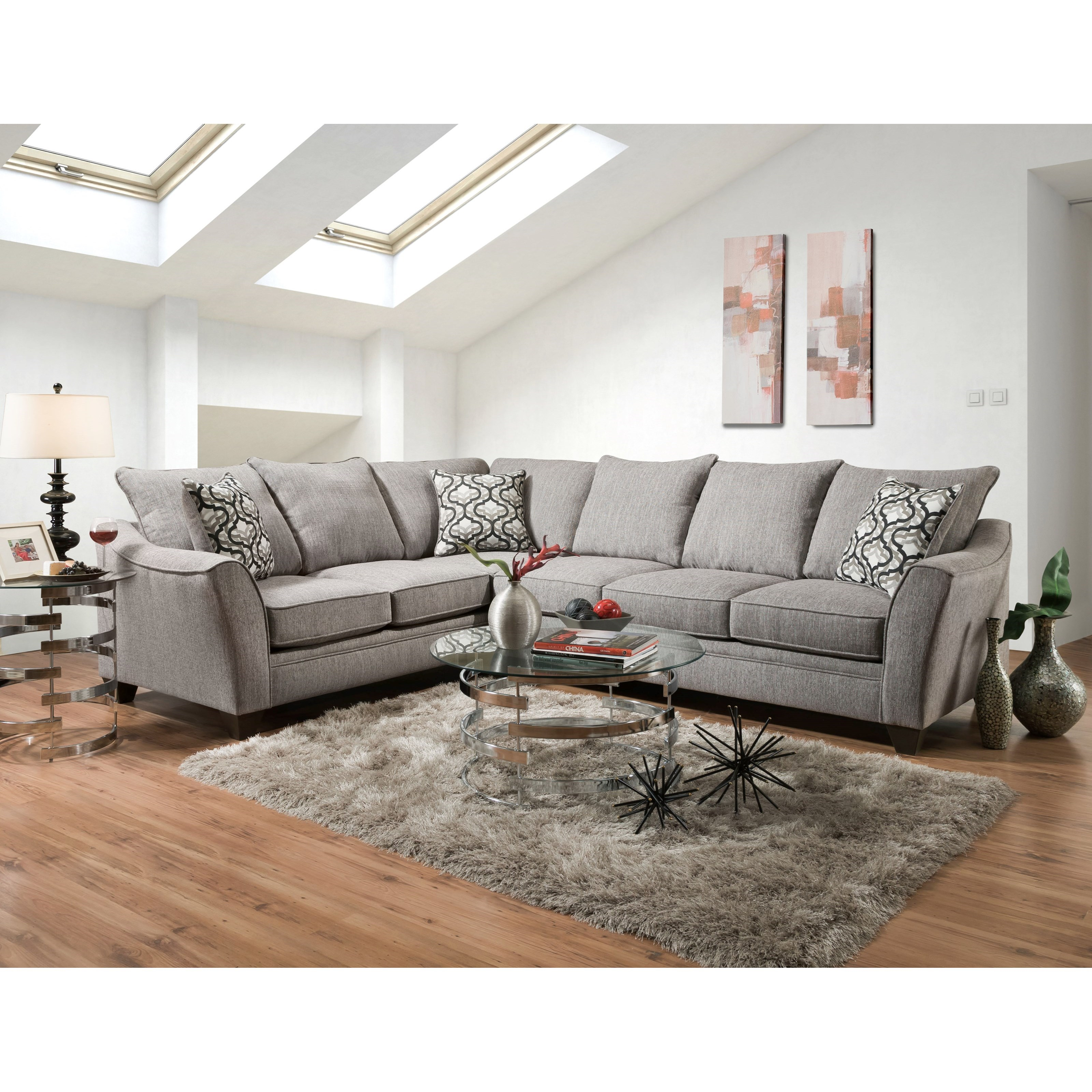 4810 5 Seat Sectional Sofa by Vendor 610 at Becker Furniture World