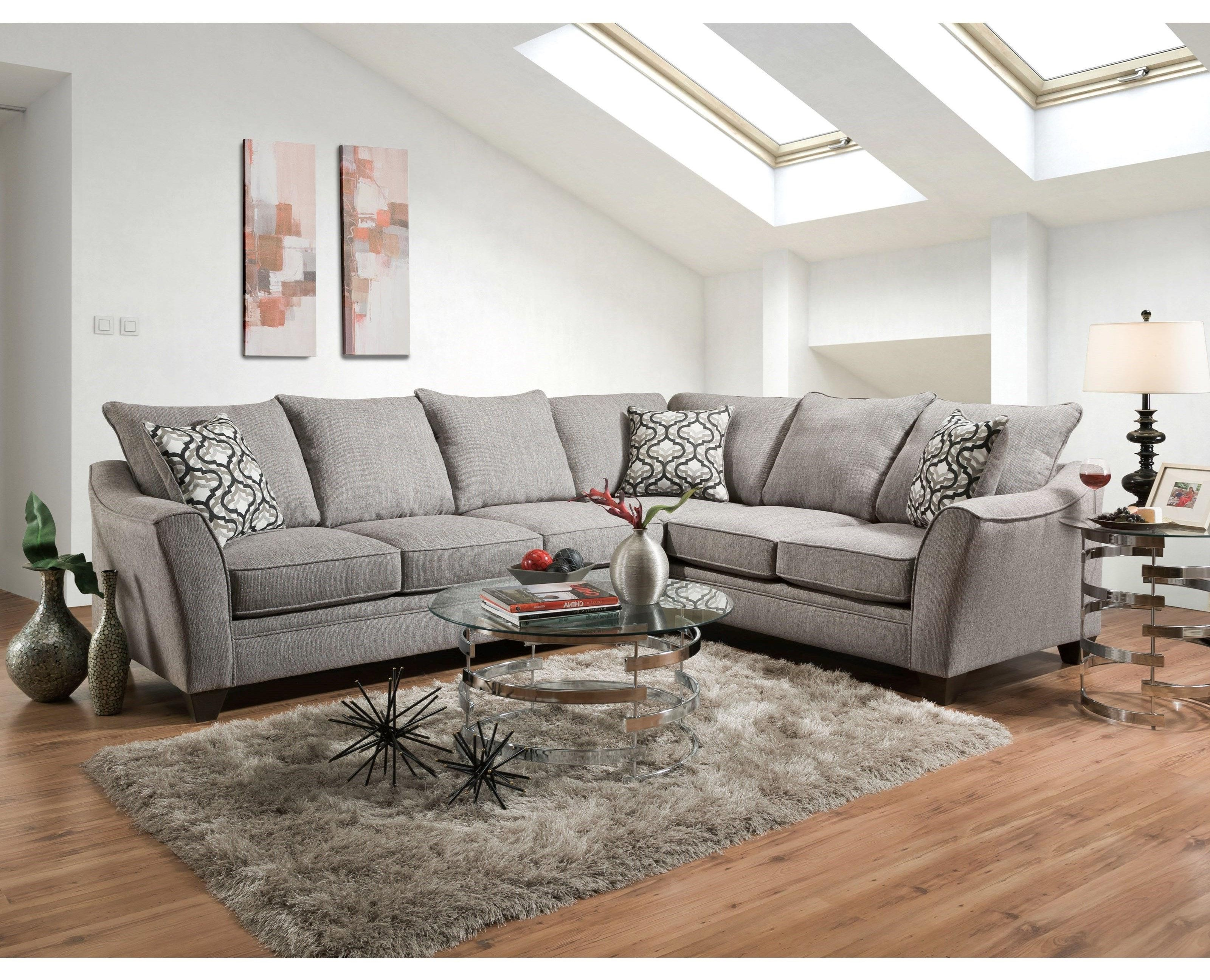 American Furniture 4810 5 Seat Sectional Sofa | Miskelly Furniture ...