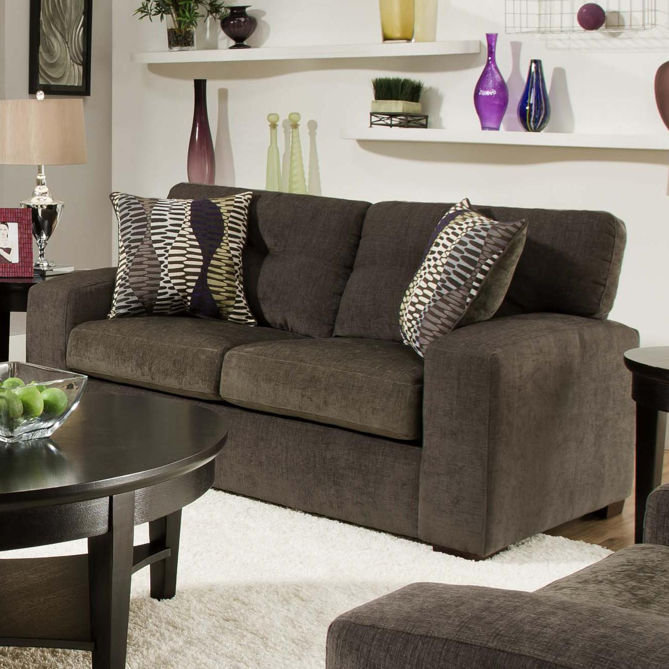 American Furniture 5100 Group Loveseat - Item Number: 5102 3430