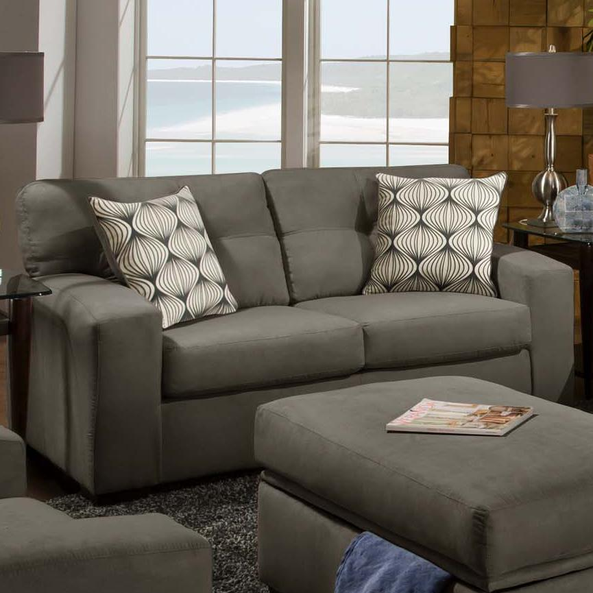 American Furniture 5100 Group Loveseat - Item Number: 5102-9335