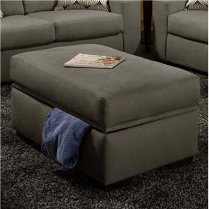 American Furniture 5100 Group Storage Ottoman
