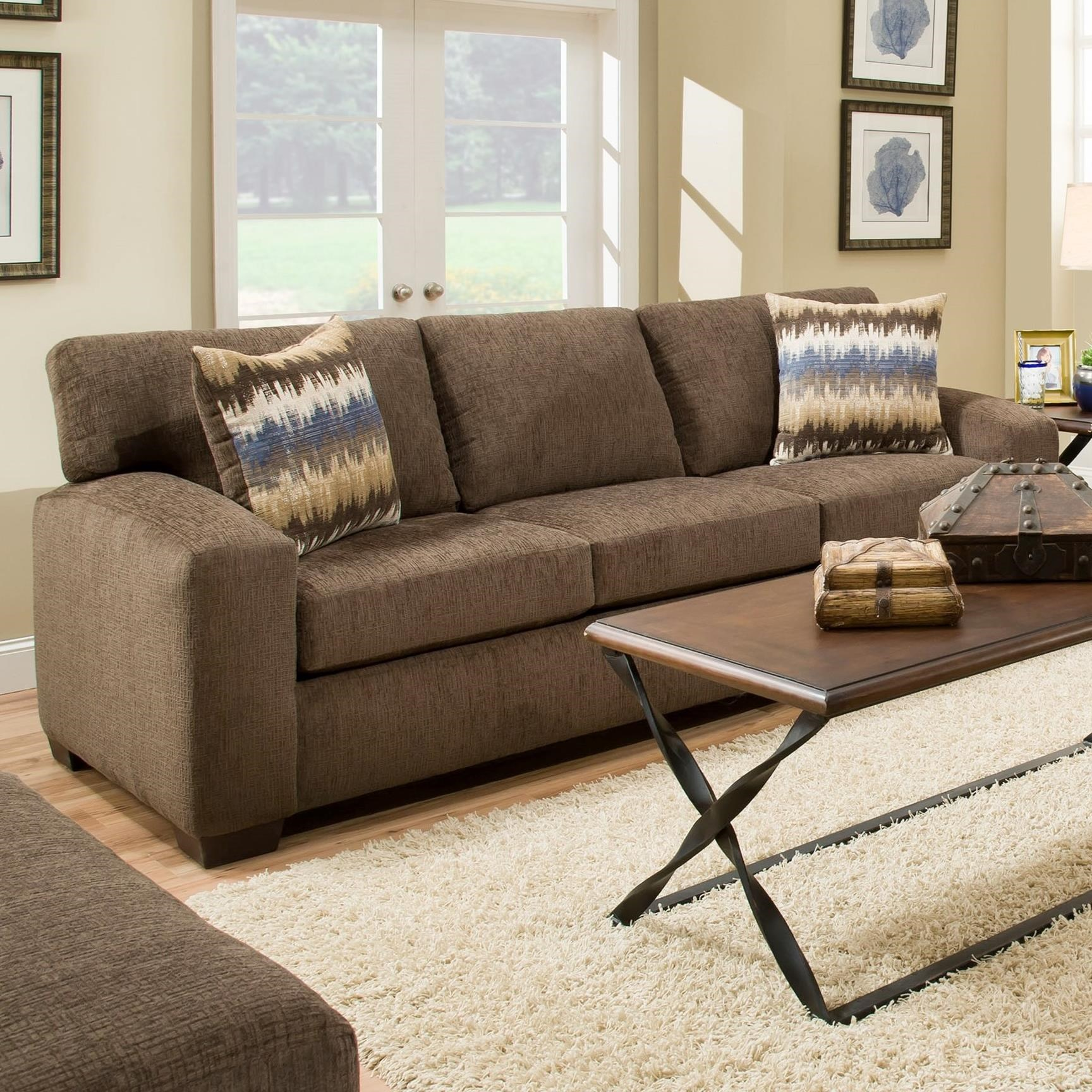 American Furniture 5250 Sofa Prime Brothers Furniture Sofas