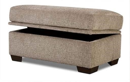 American Furniture 5250 Storage Ottoman - Item Number: 5256-4213