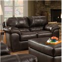 American Furniture 5400 Casual Loveseat with Comfortable Pillow Arms - 5402-1870