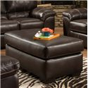 American Furniture 5400 Casual Ottoman with Rectangle Shape - 5405-1870