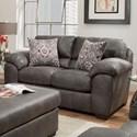 American Furniture 5407 Loveseat - Item Number: 5402-8631
