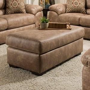 American Furniture 5407 Cocktail Ottoman
