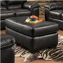 American Furniture 5450 Ottoman - Item Number: 5450-6601