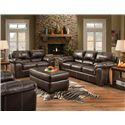American Furniture 5450 Stationary Living Room Group - Item Number: 5450-6602 Living Room Group