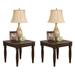American Furniture 565 Tables 2 Pack End Table