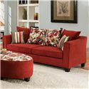 American Furniture 6300  Casual Sofa with Pillow Back - 6303-1791