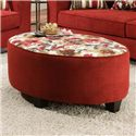 American Furniture 6300  Ottoman - Item Number: 6307-1791