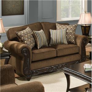 American Furniture 6700 Loveseat