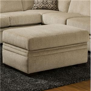 American Furniture 6800 Storage Ottoman