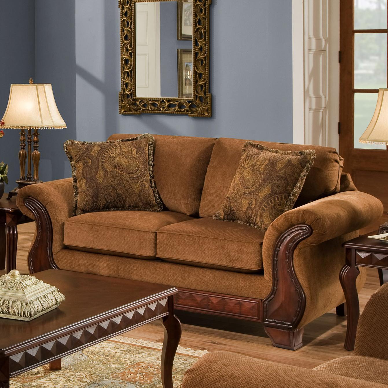 American Furniture 6900 Loveseat - Item Number: 6902 T