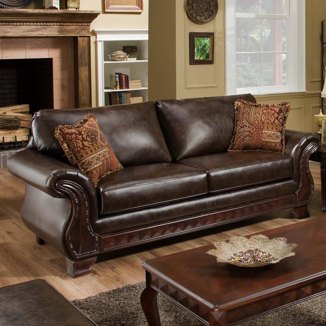 American Furniture 6900 Sofa - Item Number: 6903 4850