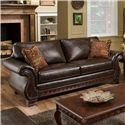 American Furniture 6900 Sofa - Item Number: 6903 4850