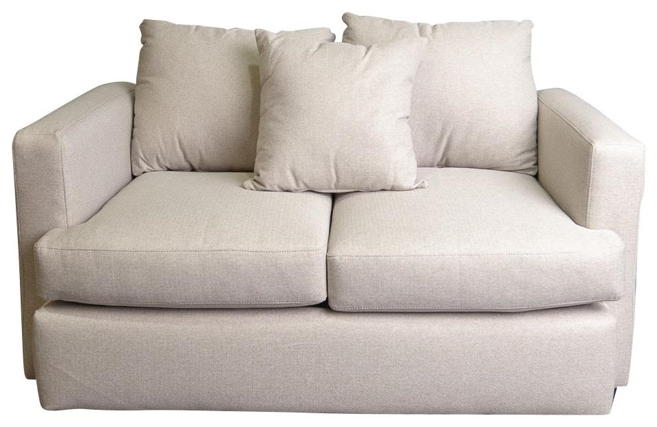 Adena Loveseat with Accent Pillow