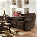 American Furniture AF310 Casual Power Reclining Sofa with Fold Down Center Table  - PAF3103-5980 - Sofa Shown May Not Represent Exact Features Indicated