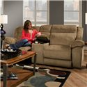 American Furniture AF330  Power Reclining Loveseat with Console and Cup-Holders - PAF3302-6450 - Loveseat Shown May Not Represent Exact Features Indicated