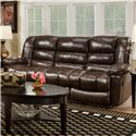 American Furniture AF550 4800 Reclining Sofa with Sleek Sophisticated Style - AF5503 4800