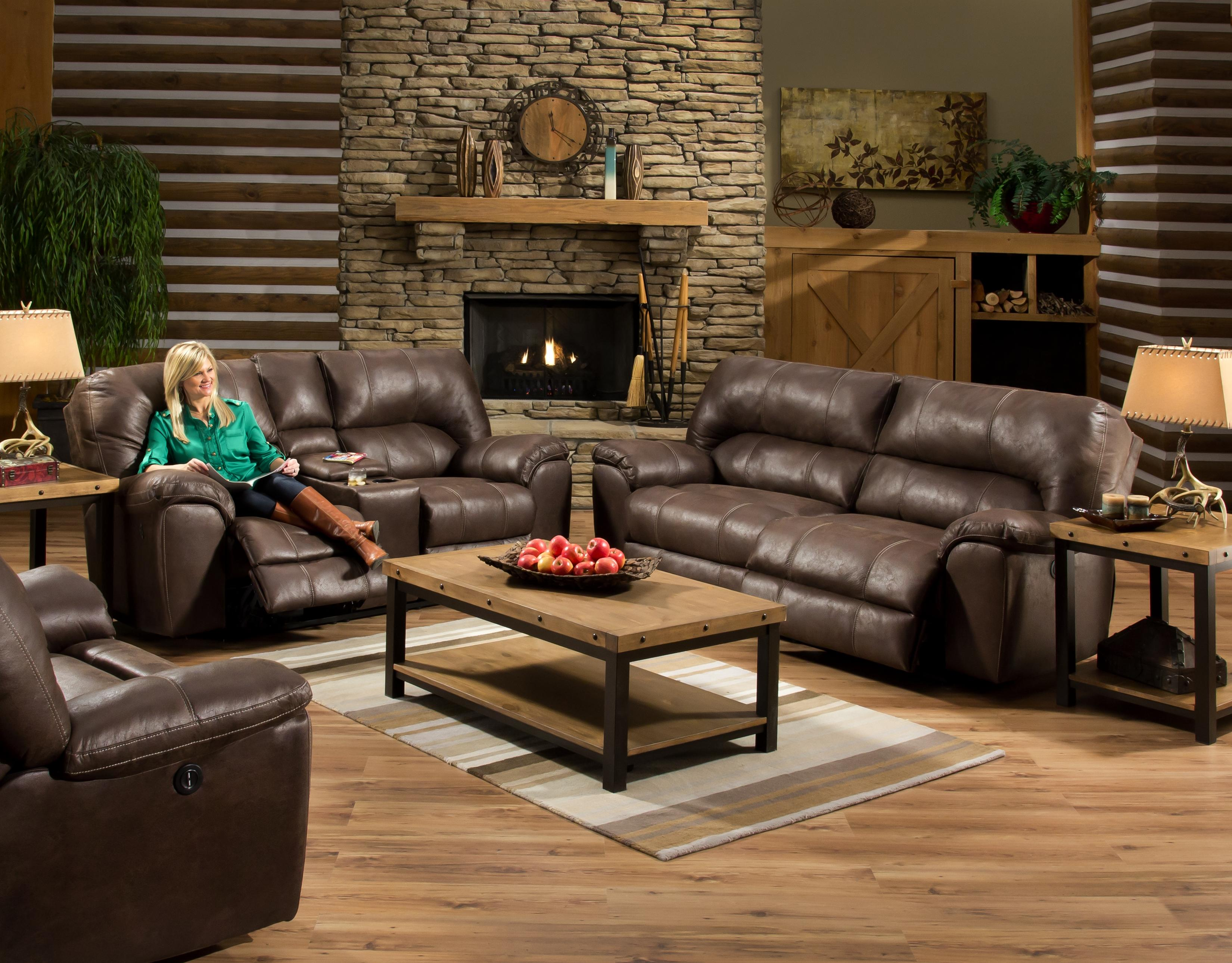 American Furniture Af740 Reclining Sofa With Headrest Prime Brothers Furniture Reclining Sofas