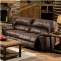 American Furniture AF740 Reclining Sofa with Headrest - AF7403-8590 - Item Shown May Not Represent Exact Features Indicated