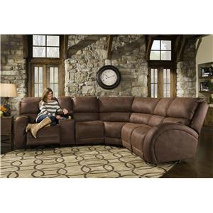 American Furniture AF940 Five Seat Reclining Sectional Sofa