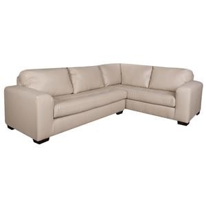 Morris Home Furnishings Arlo Arlo 2-Piece Sectional