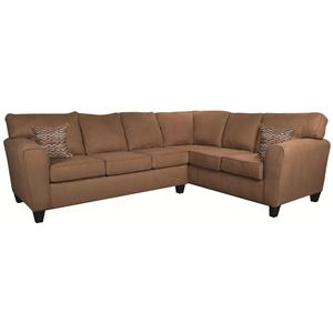 Morris Home Furnishings Chaz Chaz 2-Piece Sectional