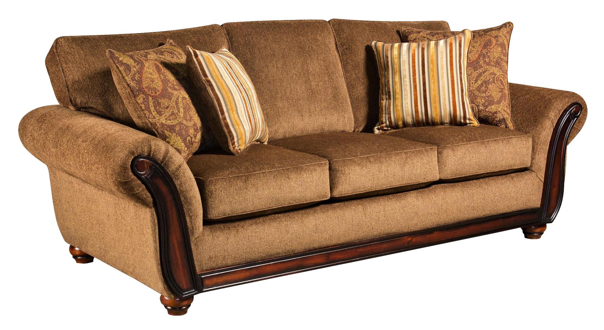 American Furniture 5650 Sofa - Item Number: 5653-1662